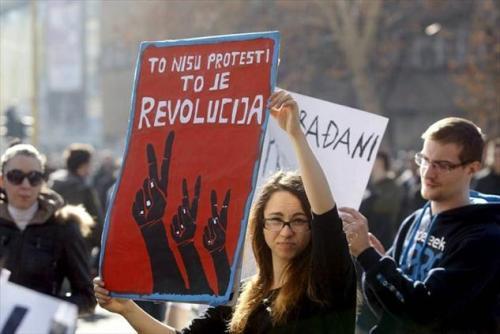 """Tuzla : """"Ce n'est pas une manifestation, c'est une révolution"""""""