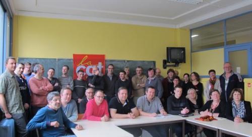 Les militants de la CGT répondront présent à l'appel national du 18 mars.