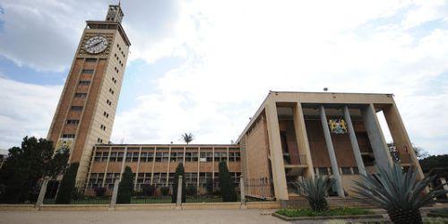 Le Parlement kényan à Nairobi, en septembre. | AFP/SIMON MAINA
