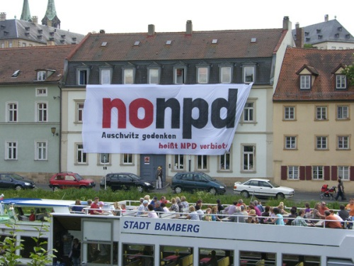 Il y a quelques années, la ville de Bamberg avait déjà montré qu'en Haute-Franconie on ne veut pas des nazis !