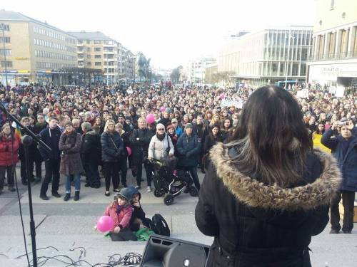 Manifestation à Goteborg
