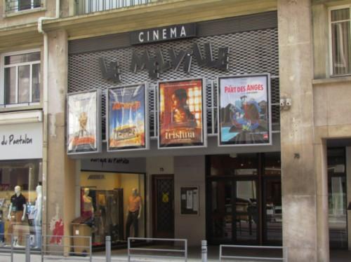 Les six salariés du cinéma Le Melville, à Rouen, se sont mis en grève mercredi 5 mars 2014 (Photo © DR).