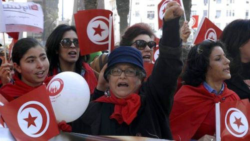 TUNISIA-WOMEN DAY RIGHTS-SOCIAL-DEMO