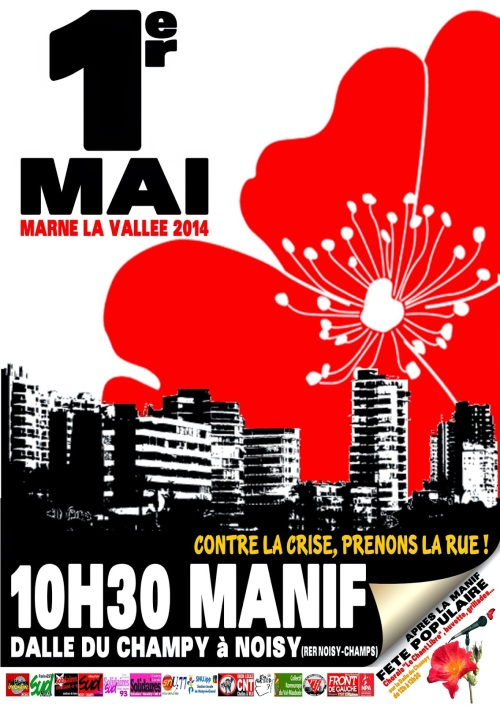 Affiche 1er Mai MLV-2014-Noisy le Grand-Champy