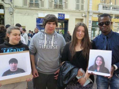 Marka et Sergo sont deux élèves de nationalité Géorgienne, âgés respectivement de 17 et 19 ans et scolarisés au Lycée Camille du Gast à Chalon sur Saône. Depuis deux jours, ils sont expulsables.