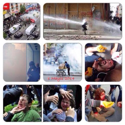 Violences policières à Istanbul