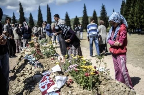 La catastrophe minière a coûté la vie à plus de 300 personnes. AFP