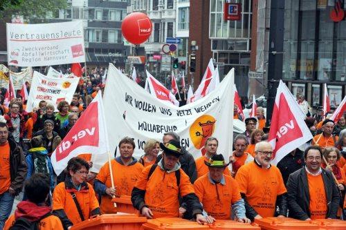May Day demonstration in Bremen