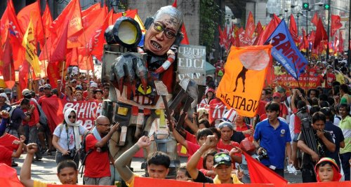 PHILIPPINES-LABOUR-MAY DAY