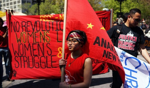 Annual Rally And March Held To Mark May Day