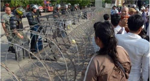 1 Mai2014 à Phnom Phnem