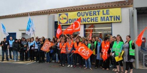 Une représentation des grévistes à Sérignan