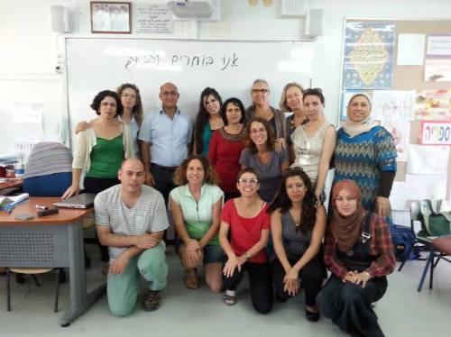 Personnel d'une école bilingue