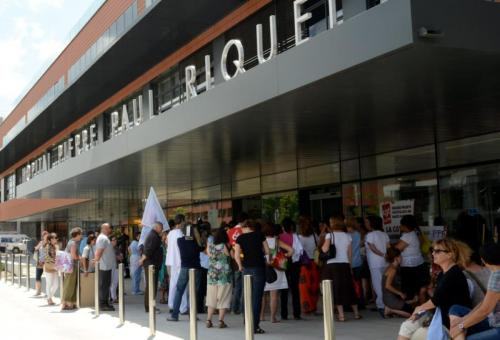 Les personnels de neurochirurgie appellent à la grève chaque jeudi à PPR Purpan./DDM-C. Giacomel-archives