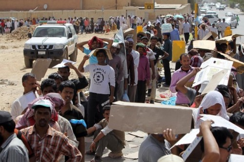 L'Arabie saoudite compte sur son sol quelque 9 millions d'étrangers, soit un tiers de la population. PHOTO FAISAL AL NASSER, ARCHIVES REUTERS