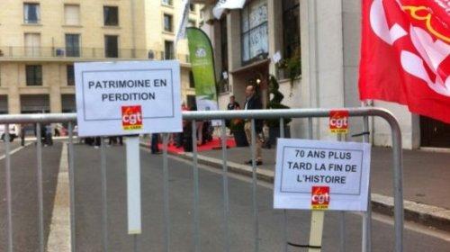 © Thierry Cleon 22 salariés font une grève reconductible jusqu'à ce que la direction organise une réunion d'information.