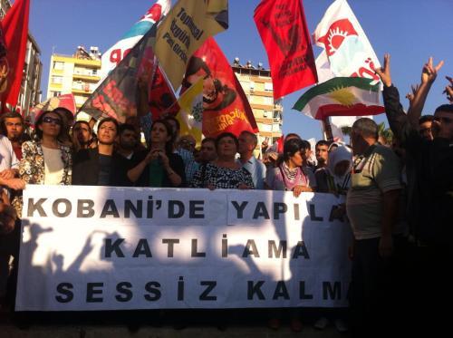 Manifestation à Adana