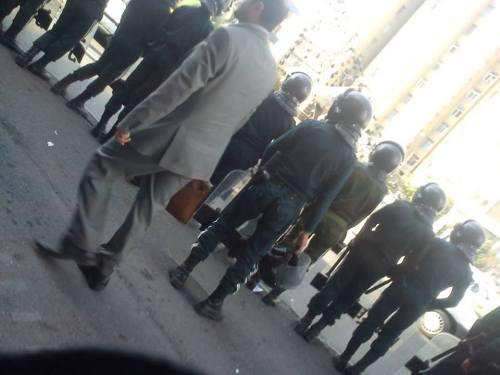 Forces de répression à Ispahan
