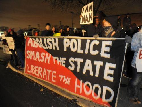 Manifestation à Détroit