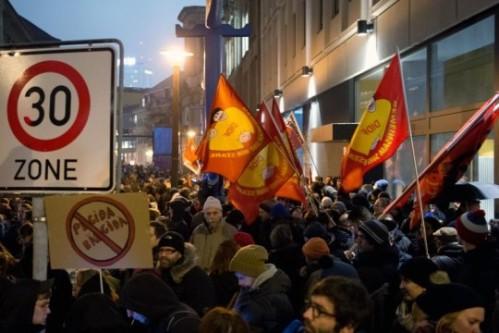 Manifestation contre le racisme à Berlin (5/01/2015)