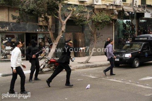Les forces de répression ouvrent le feu