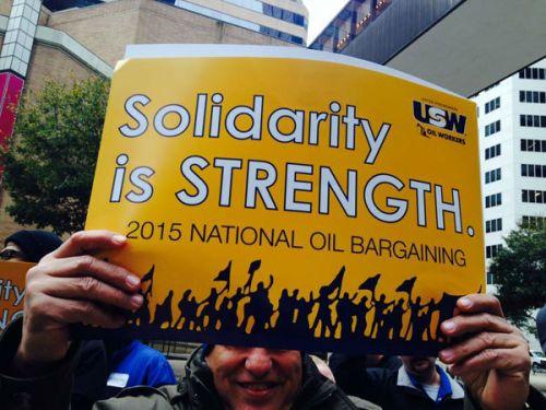 Manifestation à Houston le 3 février