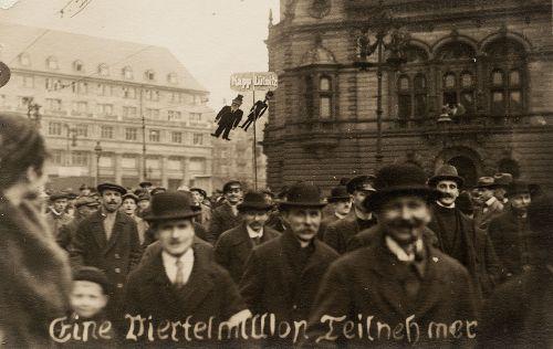 Manifestation contre le putsch de Kapp à Berlin