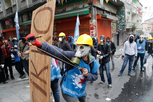 May Day rallies in Istanbul