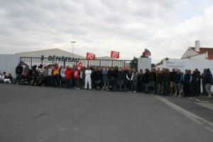 La grève était suivie par une majorité de salariés à Challans