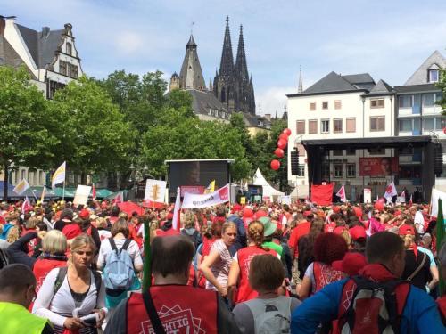 manifestation le 13 juin à Cologne