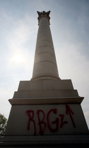Richmond (Virginie) : Monument à Jefferson Davis