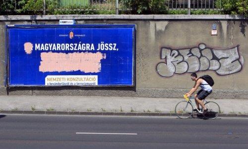 """N'est laissé que la phrase """"Si tu viens en Hongrie"""""""