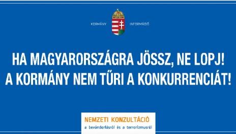 """""""Si tu viens en Hongrie, ne vole pas. Le gouvernement n'admet pas la concurrence"""""""