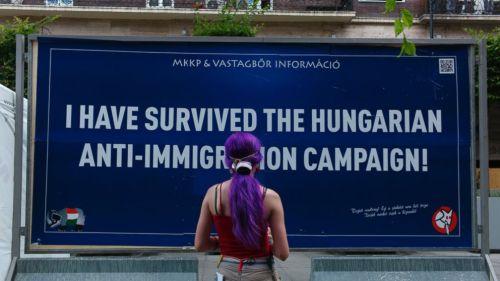 """""""Nous avons survécu à la campagne anti-immigration"""