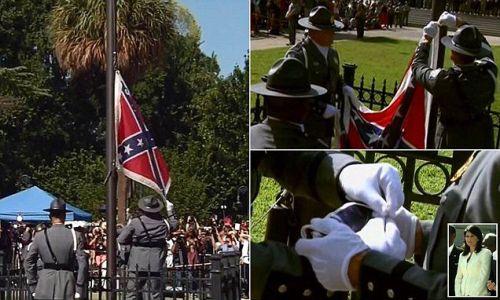 Retrait officiel du drapeau confédéré