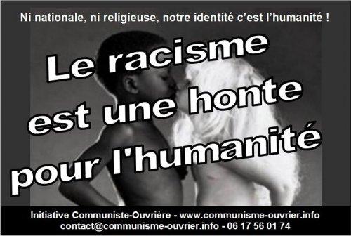 Bevorzugt Racisme, ça suffit ! | Solidarité Ouvrière CX07