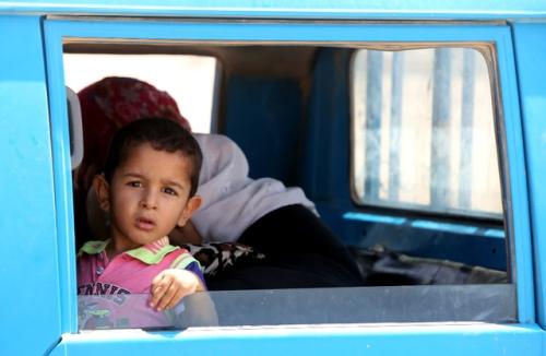 Selon les derniers chiffres de l'ONU, plus de 70% des enfants déplacés à cause des combats en Irak n'ont plus accès à l'éducation.