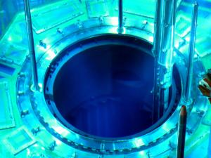 """This handout picture taken by Kyushu Electric Power on July 7, 2015 shows a fuel rod being inserted in a reactor vessel at the Kyushu Electric Power's Sendai nuclear power plant in Satsumasendai, Kagoshima prefecture, on Japan's southern island of Kyushu. Atomic fuel was being loaded into the reactor in southern Japan on July 7 as its operator prepared to restart operations despite widespread public opposition to the technology. The reactor is expected to become the first one to go back on line after two years of complete hiatus in Japan following the tsunami-sparked disaster at Fukushima in 2011. AFP PHOTO / KYUSHU ELECTRIC POWER ---EDITORS NOTE---HANDOUT RESTRICTED TO EDITORIAL USE - MANDATORY CREDIT """"AFP PHOTO / KYUSHU ELECTRIC POWER"""" - NO MARKETING NO ADVERTISING CAMPAIGNS - DISTRIBUTED AS A SERVICE TO CLIENTS"""