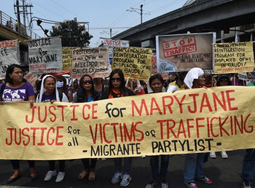 PHILIPPINES-POLITICS-WOMEN-INTERNATIONAL-RIGHTS