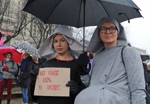 APphoto_Poland Women's March