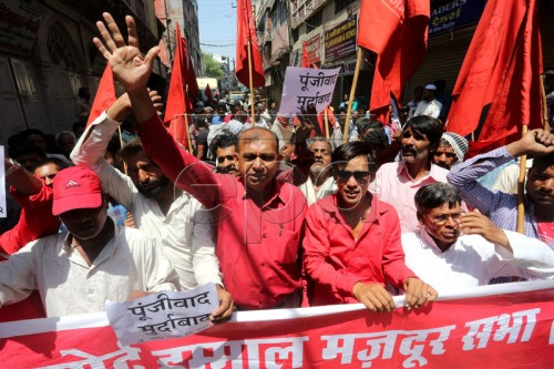 International Labour Day in Bhopal