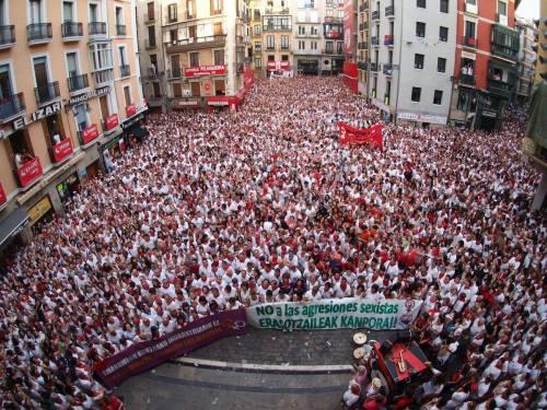 Manifestation le 7 juillet à Pampelune contre les violences sexistes